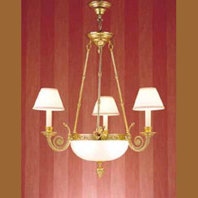 Iluminacion lamparas de techo lamparas de cristal laton tulipas cristal villalba - Catalogos de lamparas de techo ...