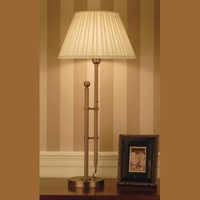 Iluminacion lamparas de pie clasicas villalba - Lamparas decorativas de mesa ...
