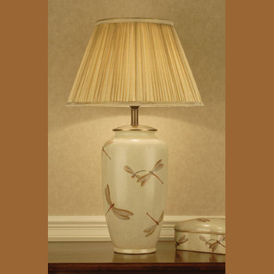 Iluminacion lamparas de mesa de porcelana villalba - Lampara de pie con mesa ...