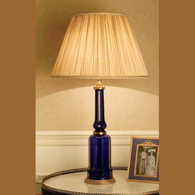 Iluminacion lamparas de mesa de cristal villalba - Lamparas para mesa ...
