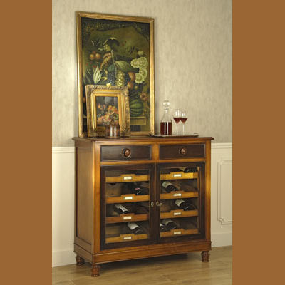 Muebles mueble auxiliar mueble auxiliar villalba for Muebles para vinotecas