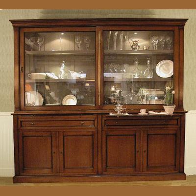 Muebles con vitrina escala dollhouse miniatura muebles - Vitrinas para miniaturas ...