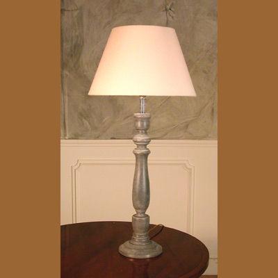 Iluminacion lamparas de mesa de madera villalba - Lamparas decorativas de mesa ...