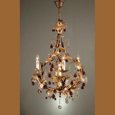 Iluminacion lamparas de techo lamparas de cristal metal decorado cristal villalba - Catalogos de lamparas de techo ...