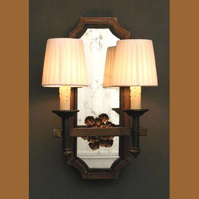 Iluminacion apliques pared villalba catalogo y tienda for Apliques de bronce para muebles